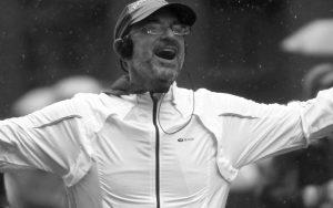 David Goodman as a marathon runner